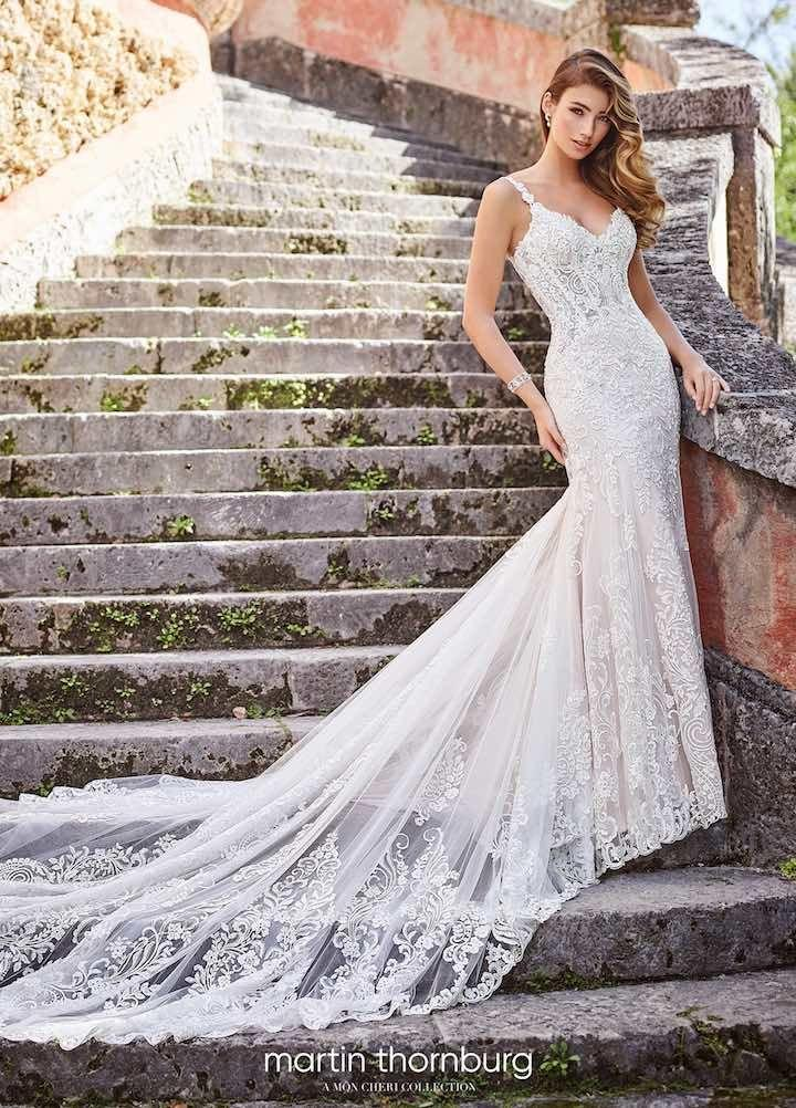Свадьба - Wedding Dress Inspiration - Martin Thornburg Collection Of Mon Cheri