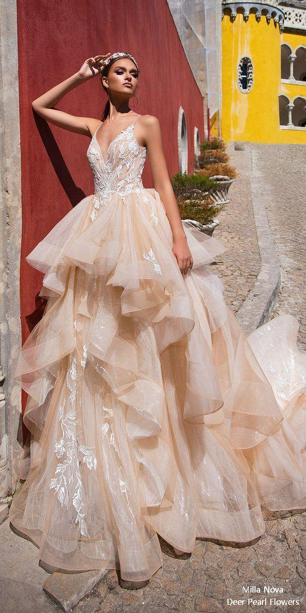 Wedding - Milla Nova Wedding Dresses 2018 – Once In The Palace