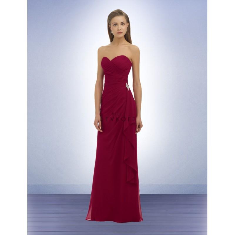 34aa054de202 Bill Levkoff 330 Strapless Sweetheart Chiffon Gathered Bridesmaid Dress - Crazy  Sale Bridal Dresses