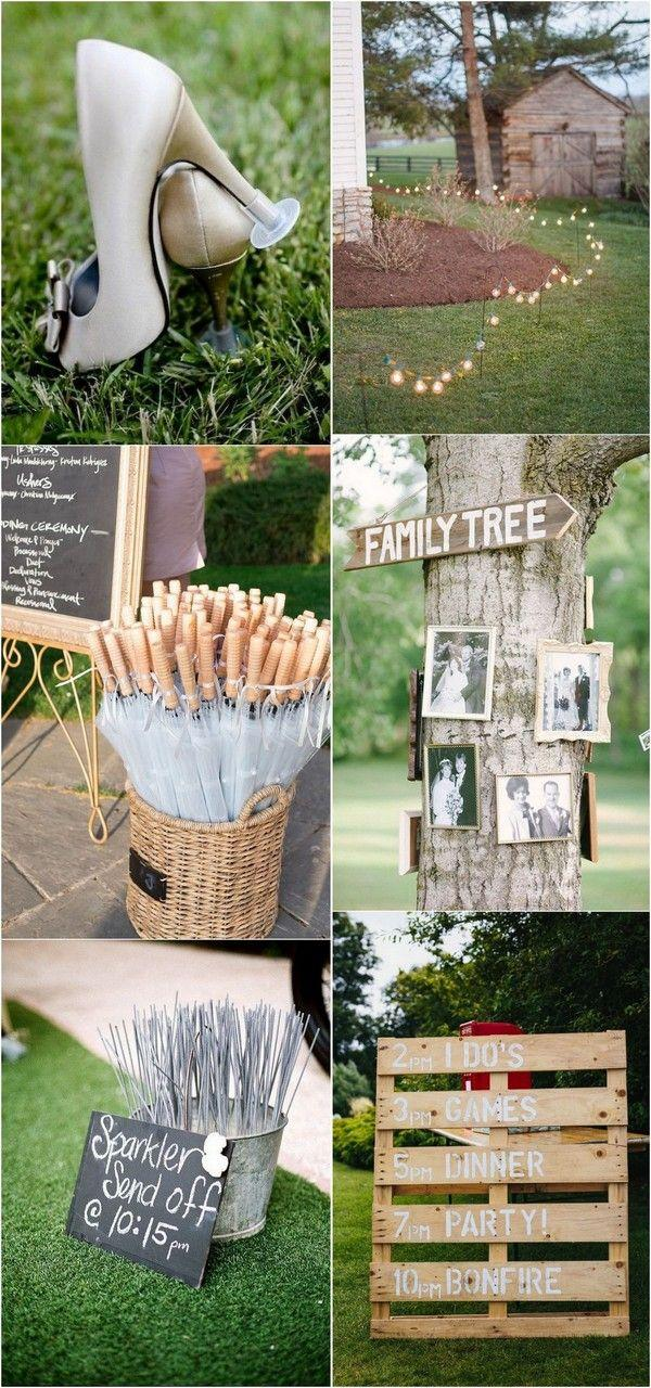 Outdoor Wedding Ideas.35 Brilliant Outdoor Wedding Decoration Ideas For 2018 Trends
