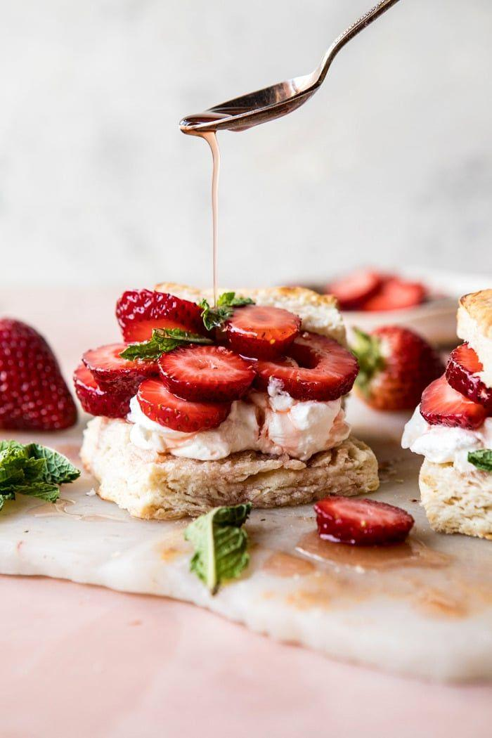 Свадьба - Strawberry Bourbon Shortcakes