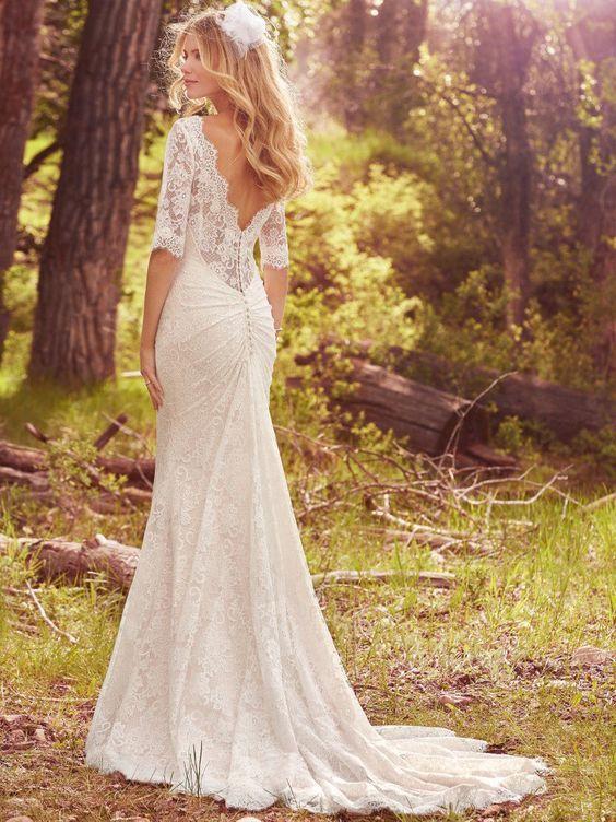 Свадьба - 10 Vestidos De Noiva Com Renda (via Pinterest)