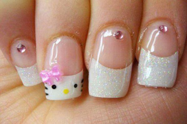 Nail 50 Hello Kitty Nail Designs 2843973 Weddbook