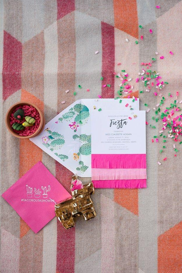 Wedding - A Pink And Gold Fiesta Bridal Shower