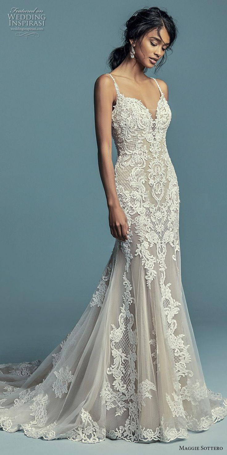 """7ac6ce5b93b9a Maggie Sottero Fall 2018 Wedding Dresses — """"Lucienne"""" Bridal Collection"""