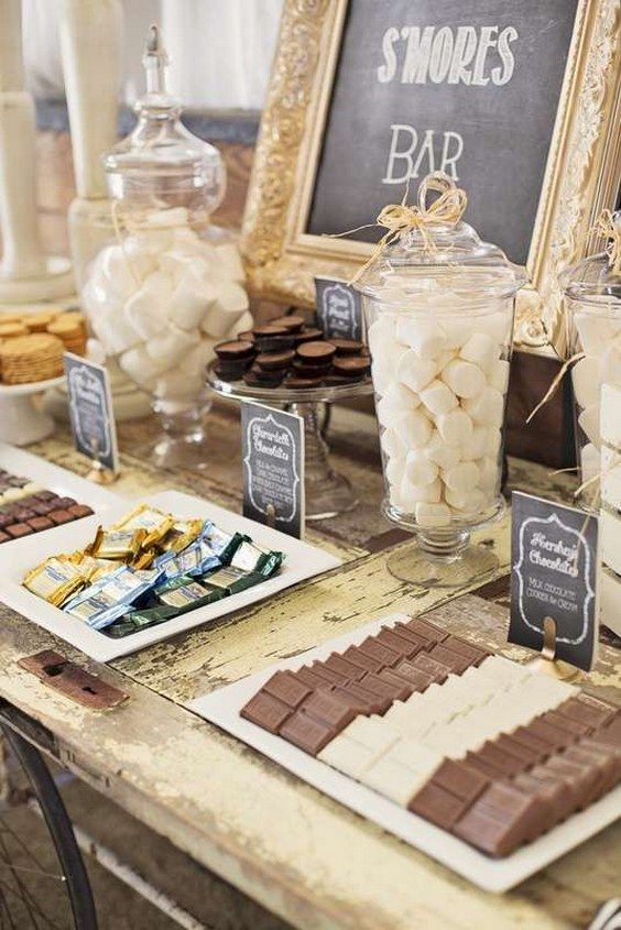 20 Best Of S More Bar Wedding Food Station Ideas