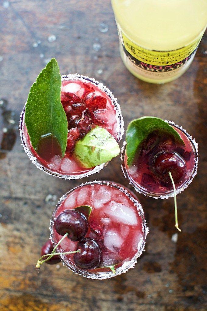 Wedding - Skinny Cherry & Lime Leaf Margarita