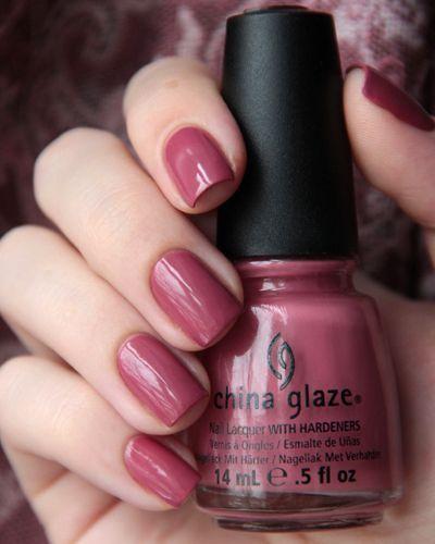 Свадьба - $6.17 - China Glaze Fifth Avenue Dusty Rose Pink Creme Cream Nail Polish Lacquer!!!! #ebay #Fashion