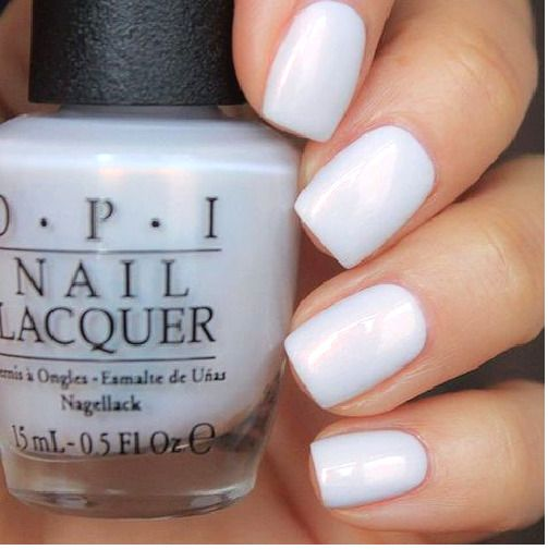 Hochzeit - $10.43 - Opi Alice Oh My Majesty! White Alabaster Pearl French Nail Polish Lacquer Ba2 >> #ebay #Fashion