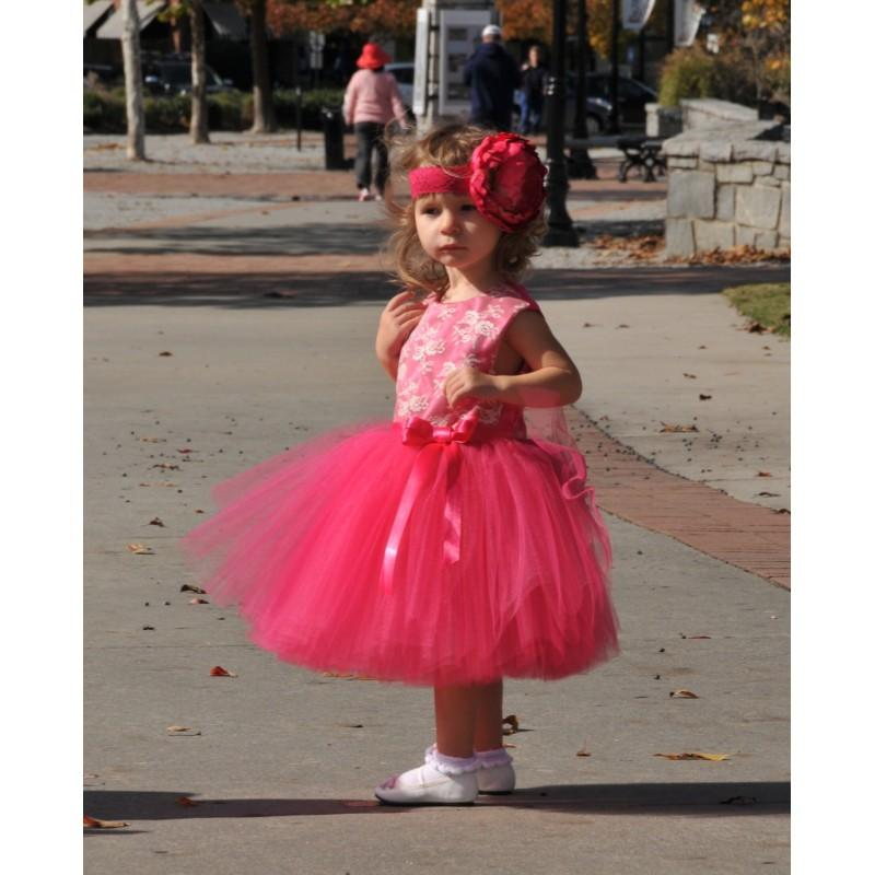 02274292804 Sewn Tulle Dress