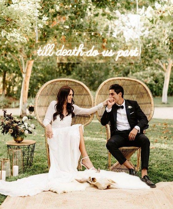 Wedding Theme 40 Boho Chic Outdoor Wedding Ideas 2845083 Weddbook