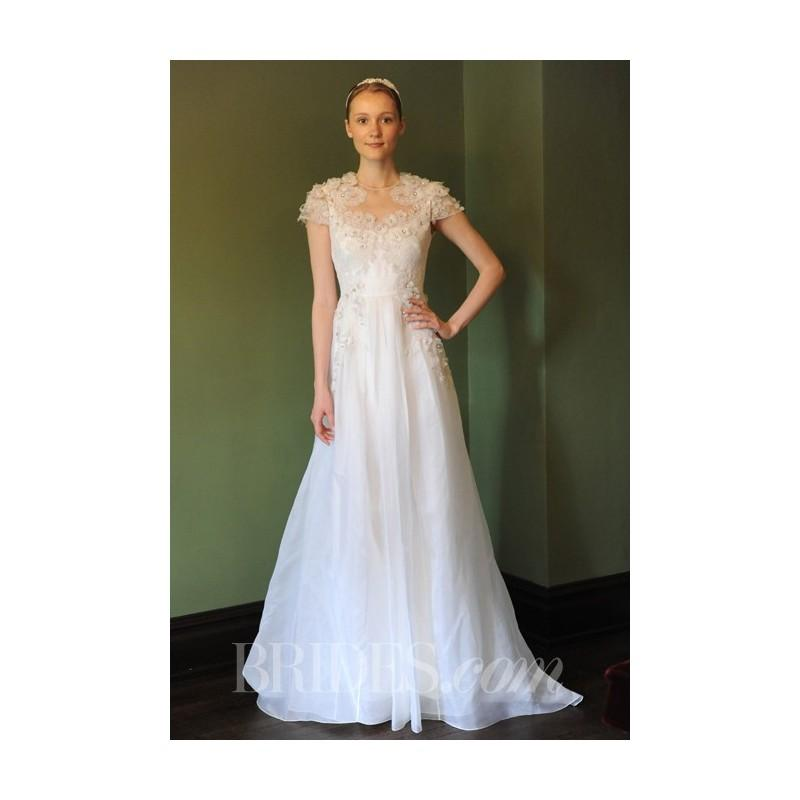 Temperley bridal spring 2014 japonica a line wedding for Wedding dresses for sale cheap