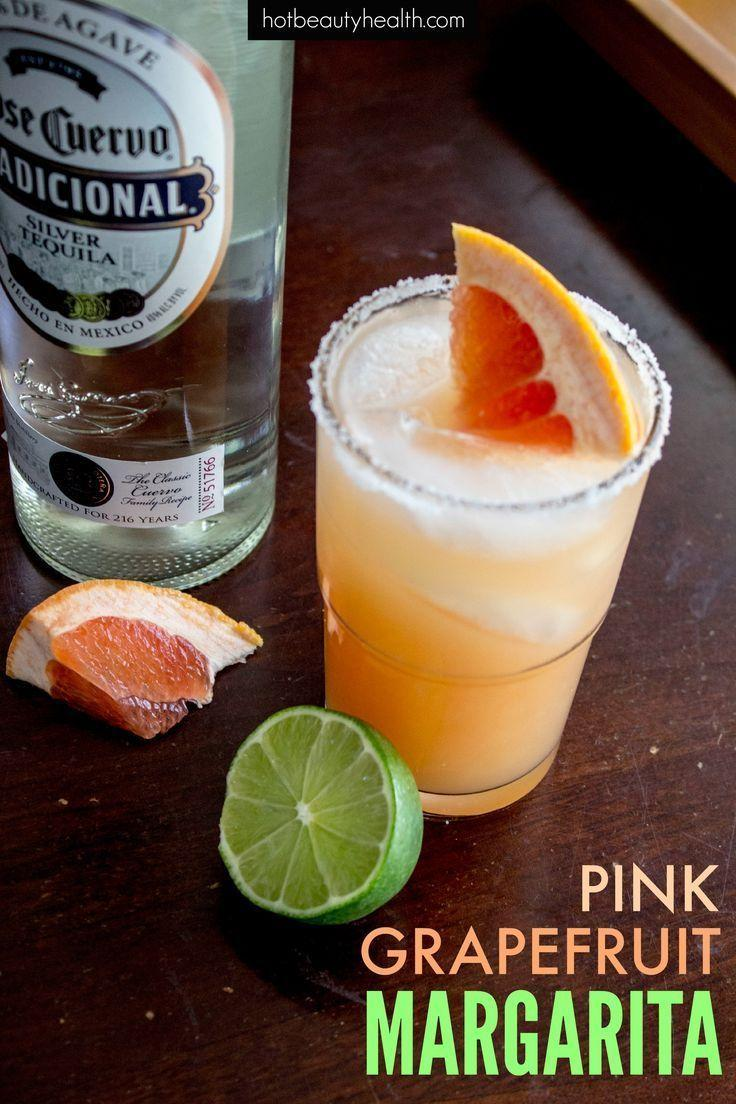 Hochzeit - Pink Grapefruit Margarita - For Cinco De Mayo