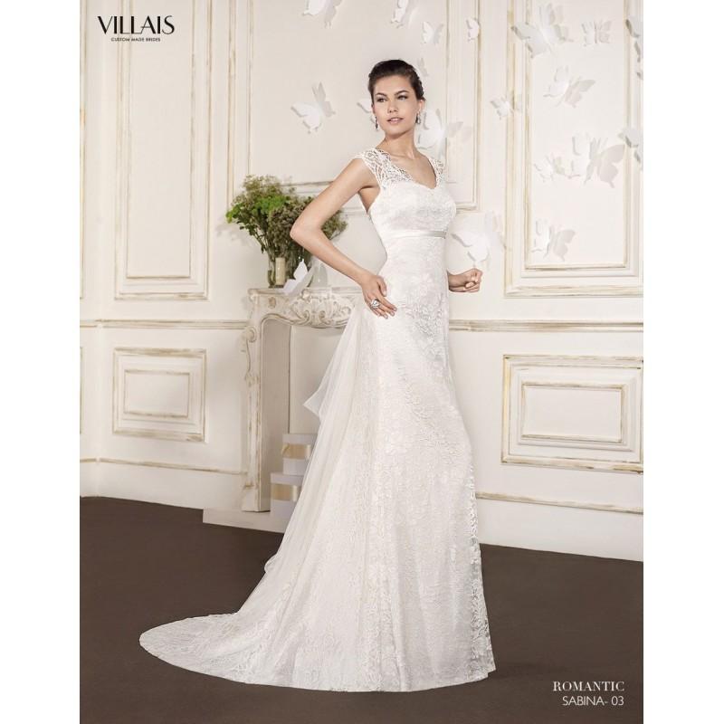 sabina (villais) - vestidos de novia 2018 #2845433 - weddbook