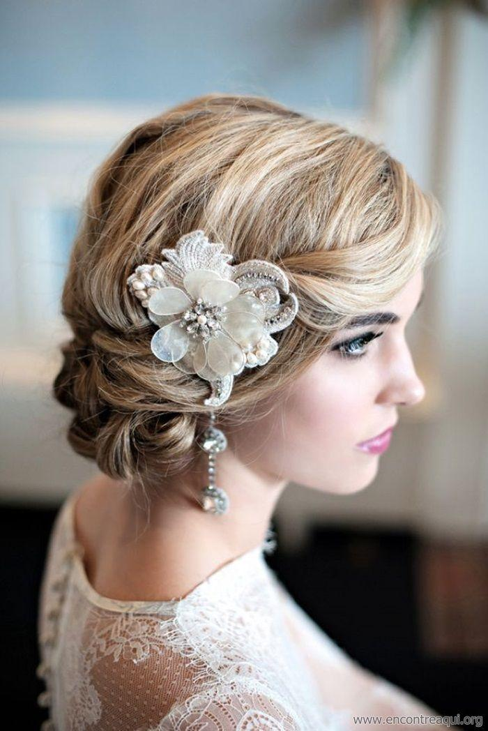 Mariage - Bridal Hairstyles - WedMe Pretty
