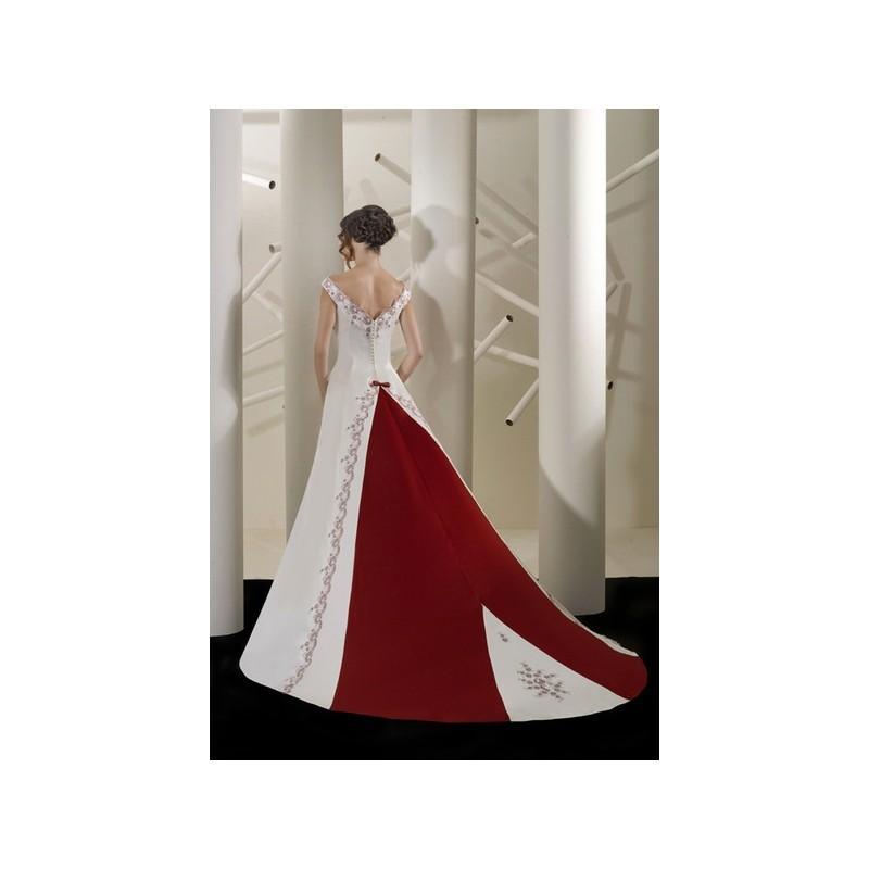 Wedding - Vestido de novia de Gelen Modelo 3118e - 2014 Princesa Barco Vestido - Tienda nupcial con estilo del cordón
