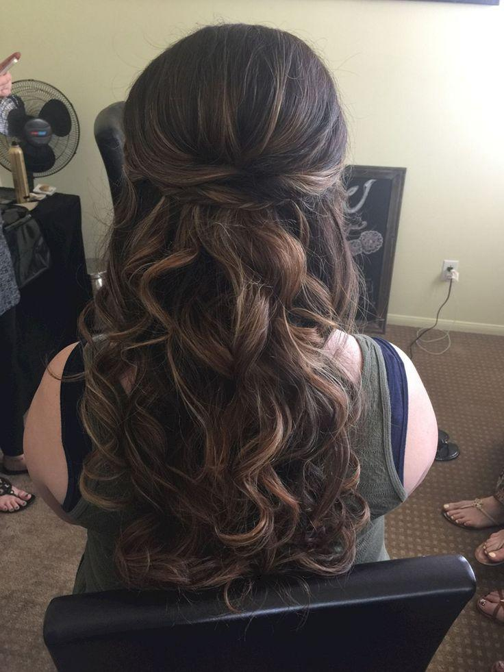 Wedding - Stunning Half Up Half Down Wedding Hairstyles Ideas No 19