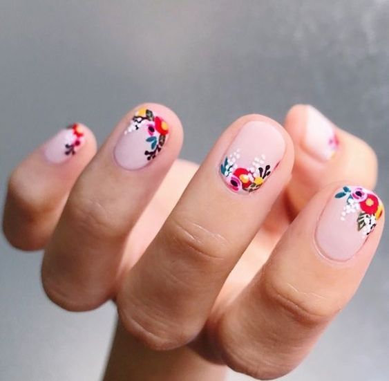 Wedding - 100 Eye Catching Summer Nail Arts That You Will Love