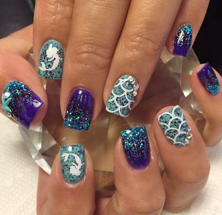 Wedding - Mermaid Nail Decal