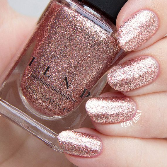 Wedding - Juliette - Rose Gold Holographic Nail Polish