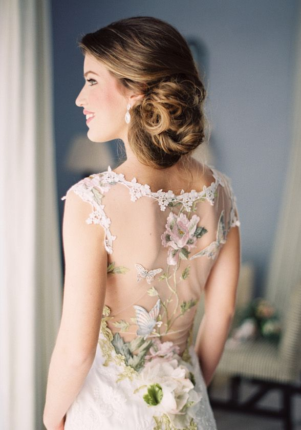 Mariage - Clair Pettibone Romantic Floral Back Pattern