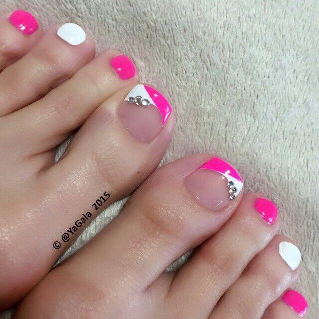 Mariage - Toe Nails