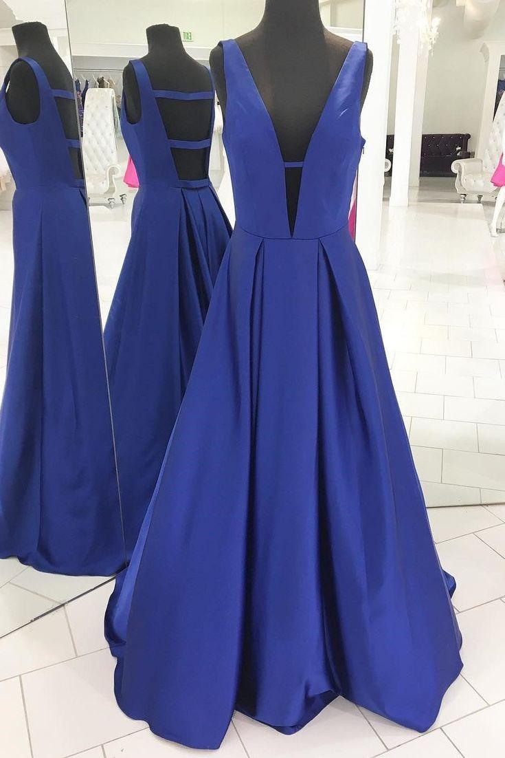 Hochzeit - Outlet Comely Blue Prom Dresses Gorgeous Royal Blue Long Prom Dress Evening Dress