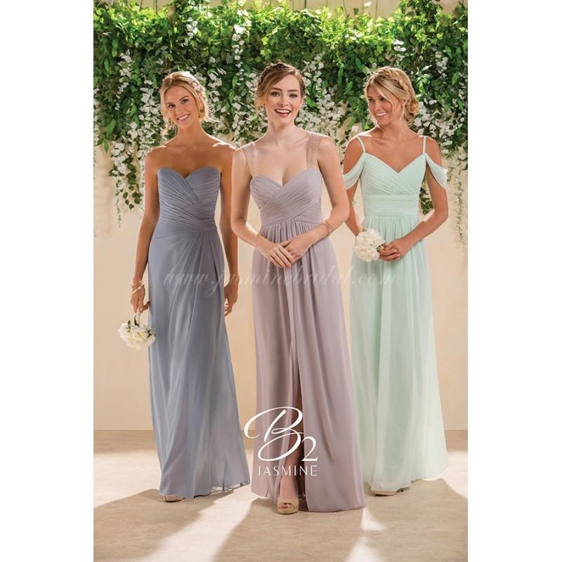 Hochzeit - B2 Bridesmaids by Jasmine B183005 - Branded Bridal Gowns