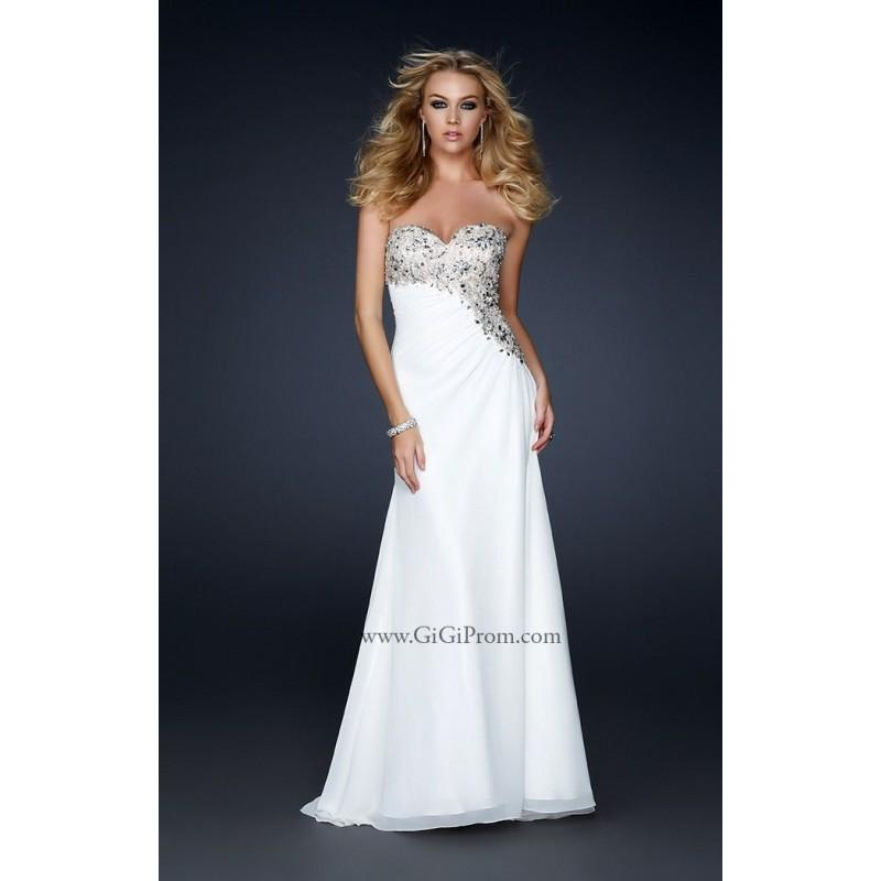 Hochzeit - Ivory Gigi 17424 - Chiffon Dress - Customize Your Prom Dress