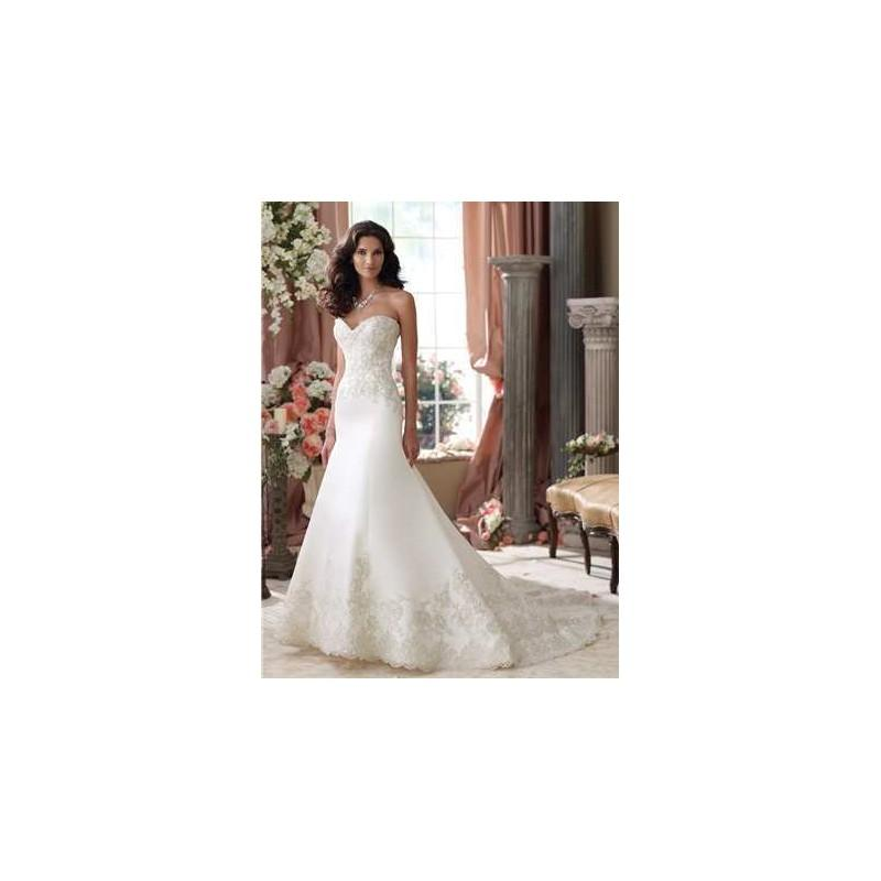 Mariage - David Tutera for Mon Cheri Wedding Dress Style No. 114279 - Brand Wedding Dresses