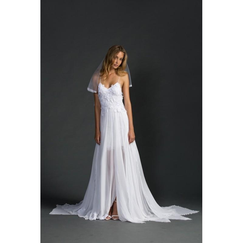 Mariage - Hollie (Grace Loves Lace) 2016 Hollie En A En V Largo - Vestidos de novia 2018