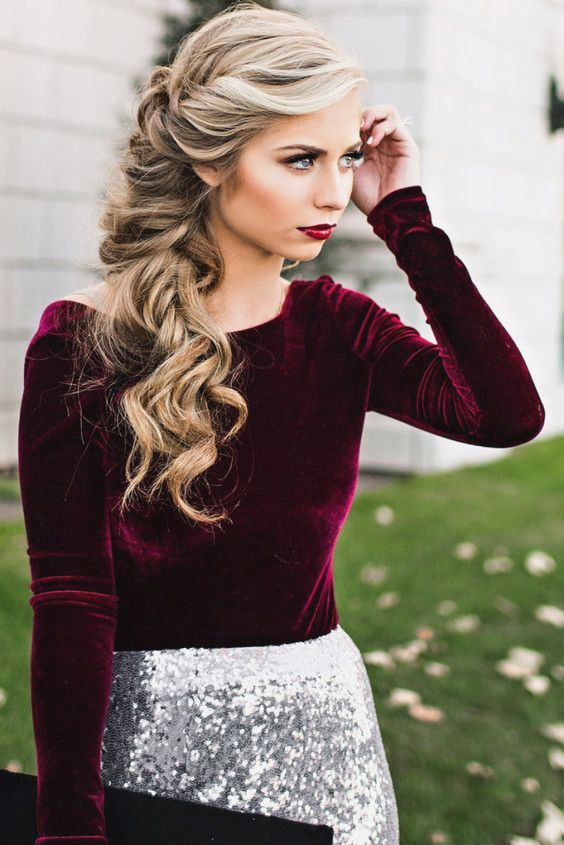 Свадьба - Best 10 Winter Hairstyles You Must Try
