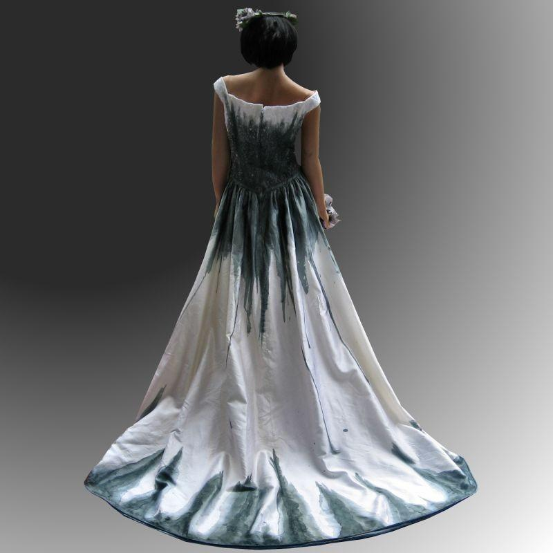 Corpse Bride Gothic Gown SALE - Hand-made Beautiful Dresses #2846687 ...