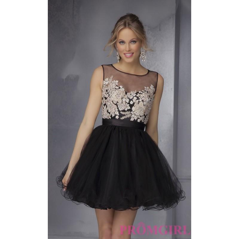 زفاف - Mori Lee Short Homecoming Dress - Brand Prom Dresses
