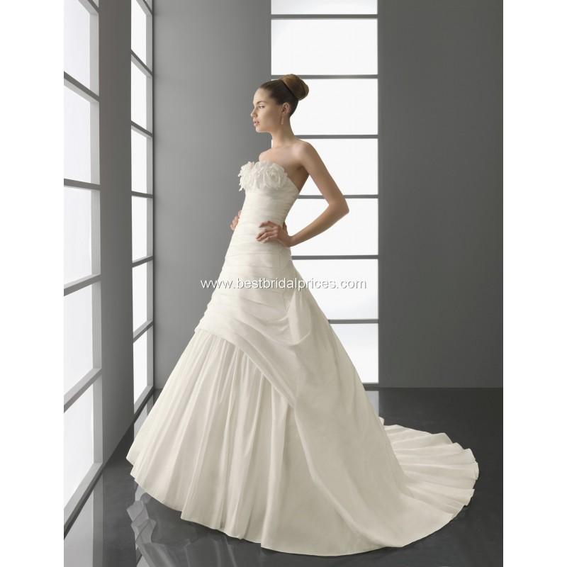 Свадьба - Aire Barcelona Wedding Dresses - Style Prisca - Formal Day Dresses