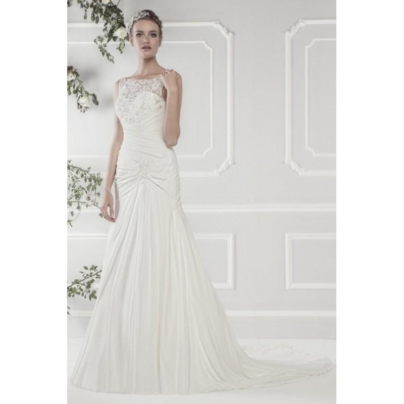 Mariage - Style 11422 by Ellis Rose - ChiffonLace Bateau Sleeveless Floor length Mermaid Dress - 2018 Unique Wedding Shop