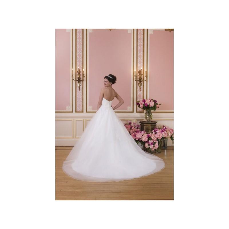 Свадьба - Vestido de novia de Sweetheart Modelo 6035_149 - 2014 Princesa Palabra de honor Vestido - Tienda nupcial con estilo del cordón