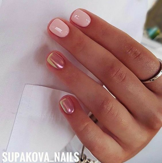 86 Simple Acrylic Nail Design Ideas For Short Nails For Summer 2018 - 86 Simple Acrylic Nail Design Ideas For Short Nails For Summer 2018