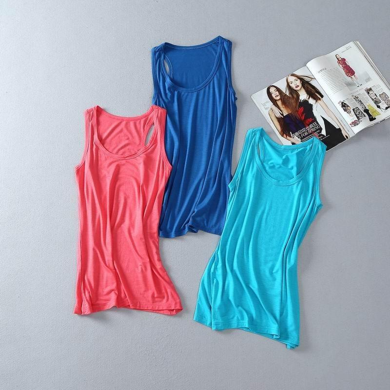 Свадьба - Must-have Vogue Slimming Candy Color Sleeveless Top Strappy Top - Discount Fashion in beenono