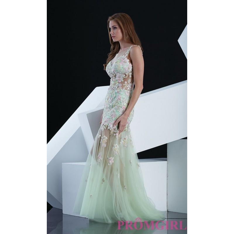 Свадьба - Full Length Embroidered Evening Gown by Jasz - Brand Prom Dresses