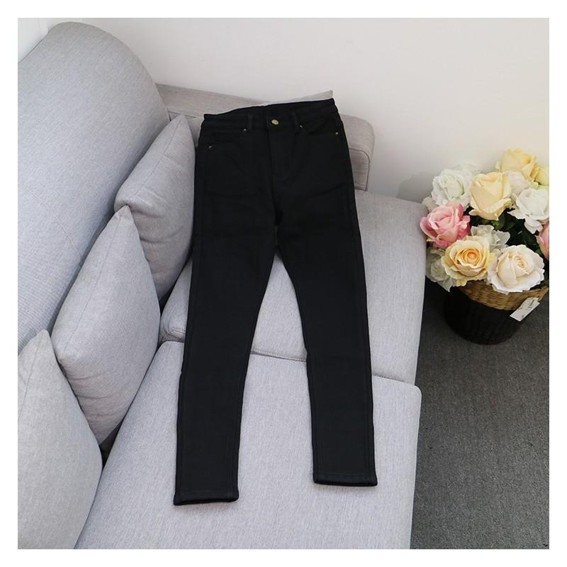 Wedding - Must-have Casual One Color Skinny Jean Long Trouser - Discount Fashion in beenono