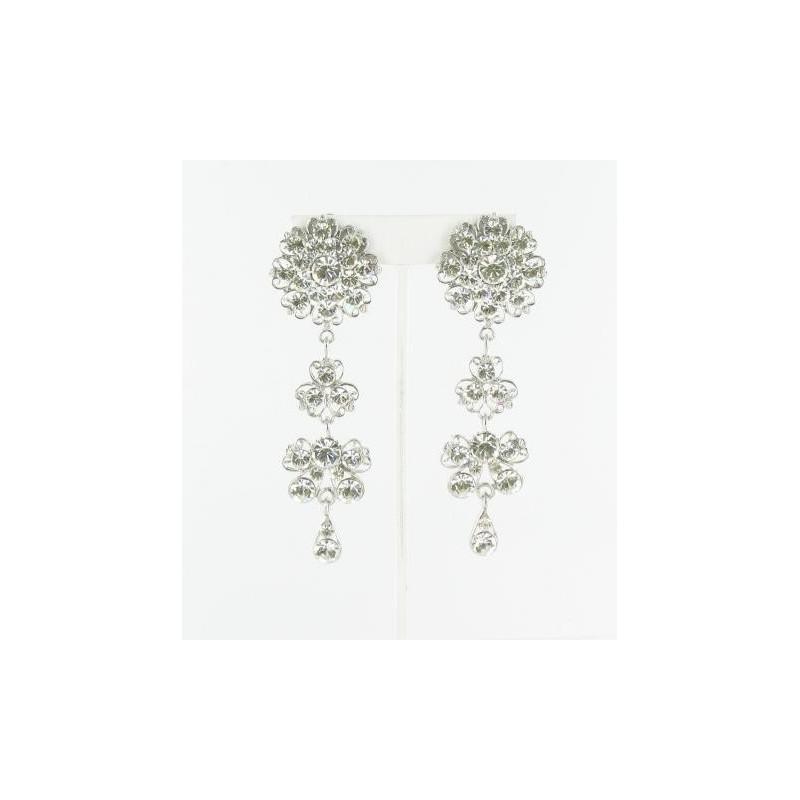 Свадьба - Helens Heart Earrings JE-X005416-S-AB Helen's Heart Earrings - Rich Your Wedding Day