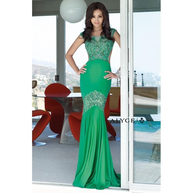 Wedding - ALYCE Paris Alyce Paris - Prom Dress Style 6346 -  Designer Wedding Dresses