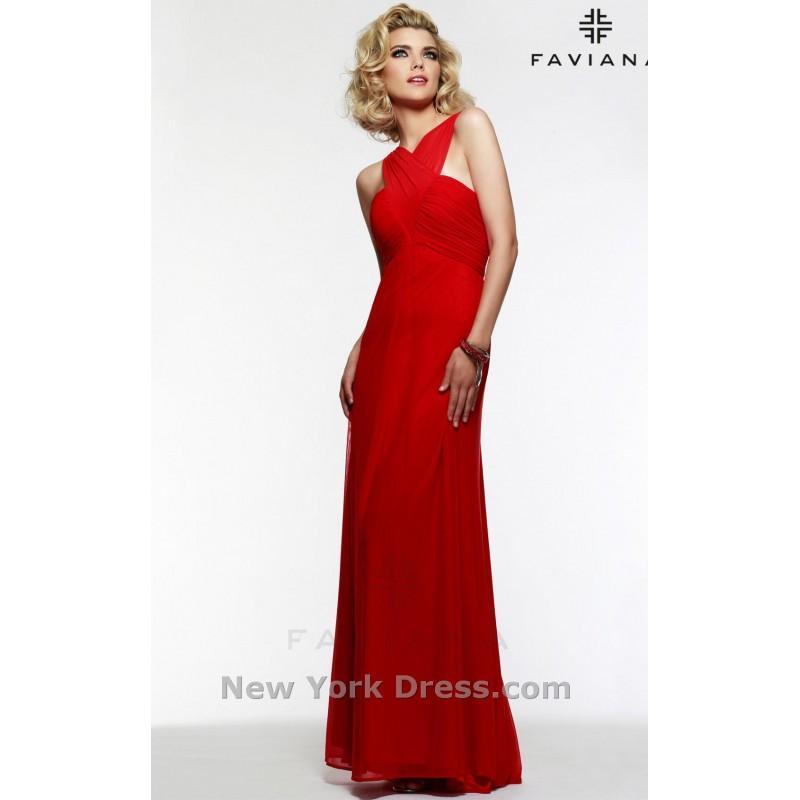 Wedding - Faviana 7554 - Charming Wedding Party Dresses