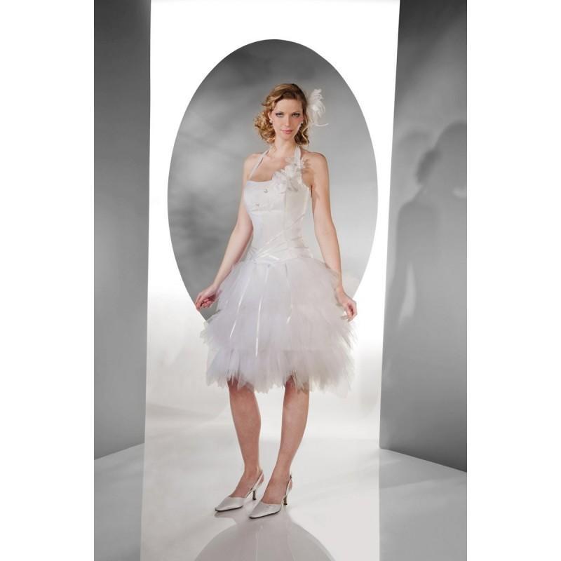 Wedding - Pia Benelli, Nebuleuse ecrue - Superbes robes de mariée pas cher