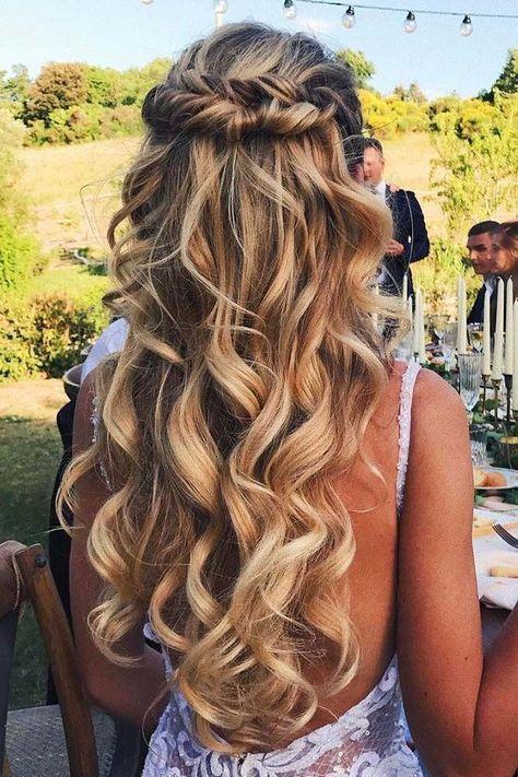 Wedding Hairstyles Down.33 Exquisite Wedding Hairstyles With Hair Down 2851972 Weddbook