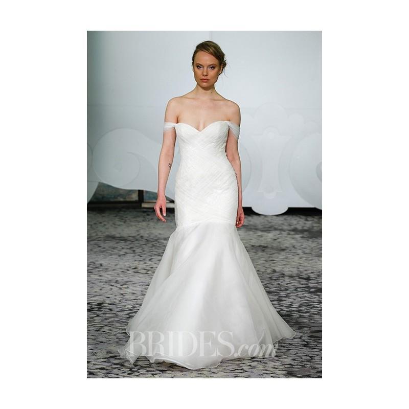 f292d15f20 Rivini by Rita Vinieris - Spring 2017 - Off The Shoulder Tulle Mermaid Dress  - Stunning Cheap Wedding Dresses