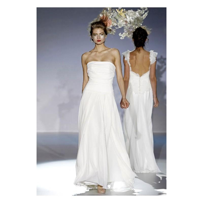 Свадьба - Vestido de novia de Raimon Bundó Modelo Dante - Tienda nupcial con estilo del cordón