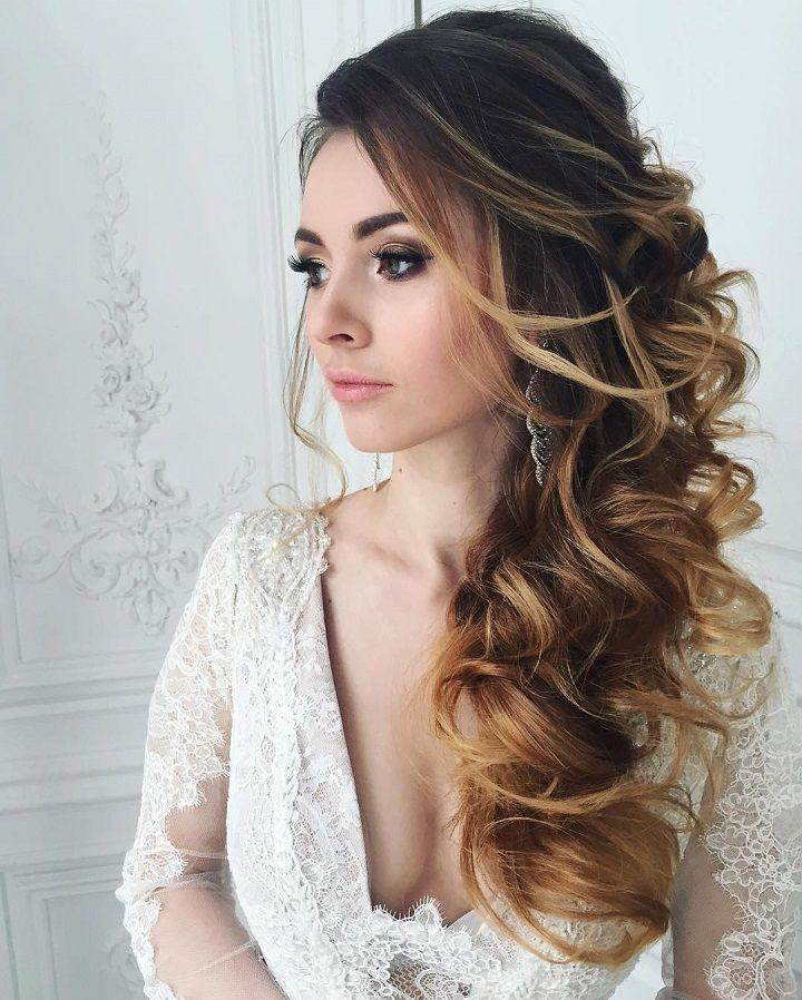 Hochzeit - This Beautiful Bridal Hairstyle Perfect For Any Wedding Venue