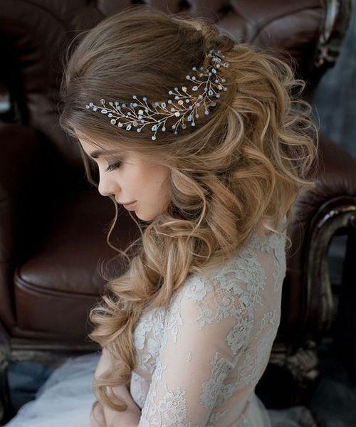 Hochzeit - Wedding Hairstyles 2017 - Get A Beautiful Look On Big Day